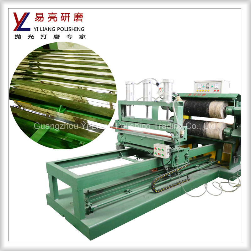 Fine Polish Machine for Square Tube and Screen Mirror Finishing