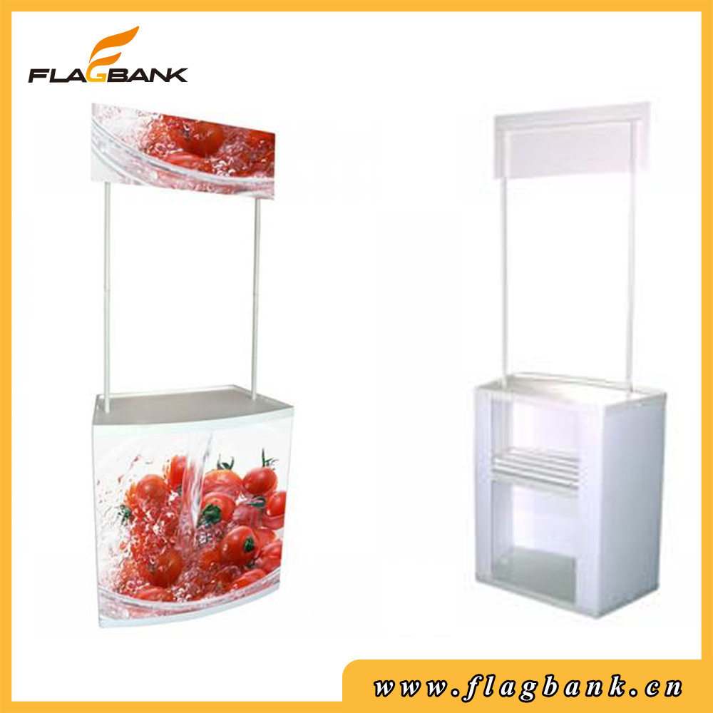Advertising Plastic Portable Promotion Counter/Snack Counter