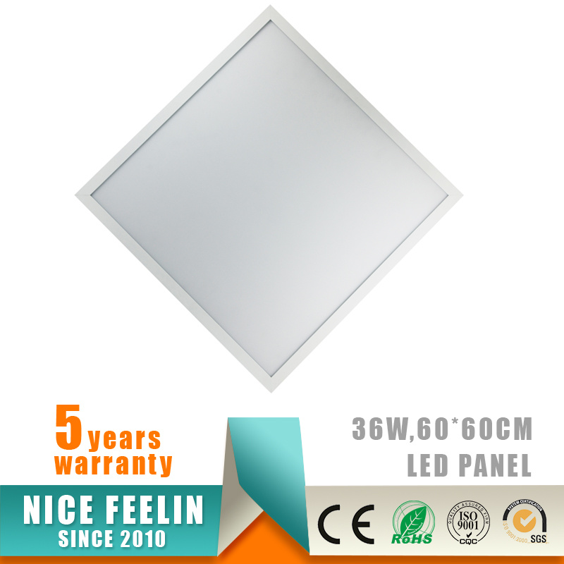 5years warranty 60X60CM 36W LED Panel with Ce/RoHS Approval