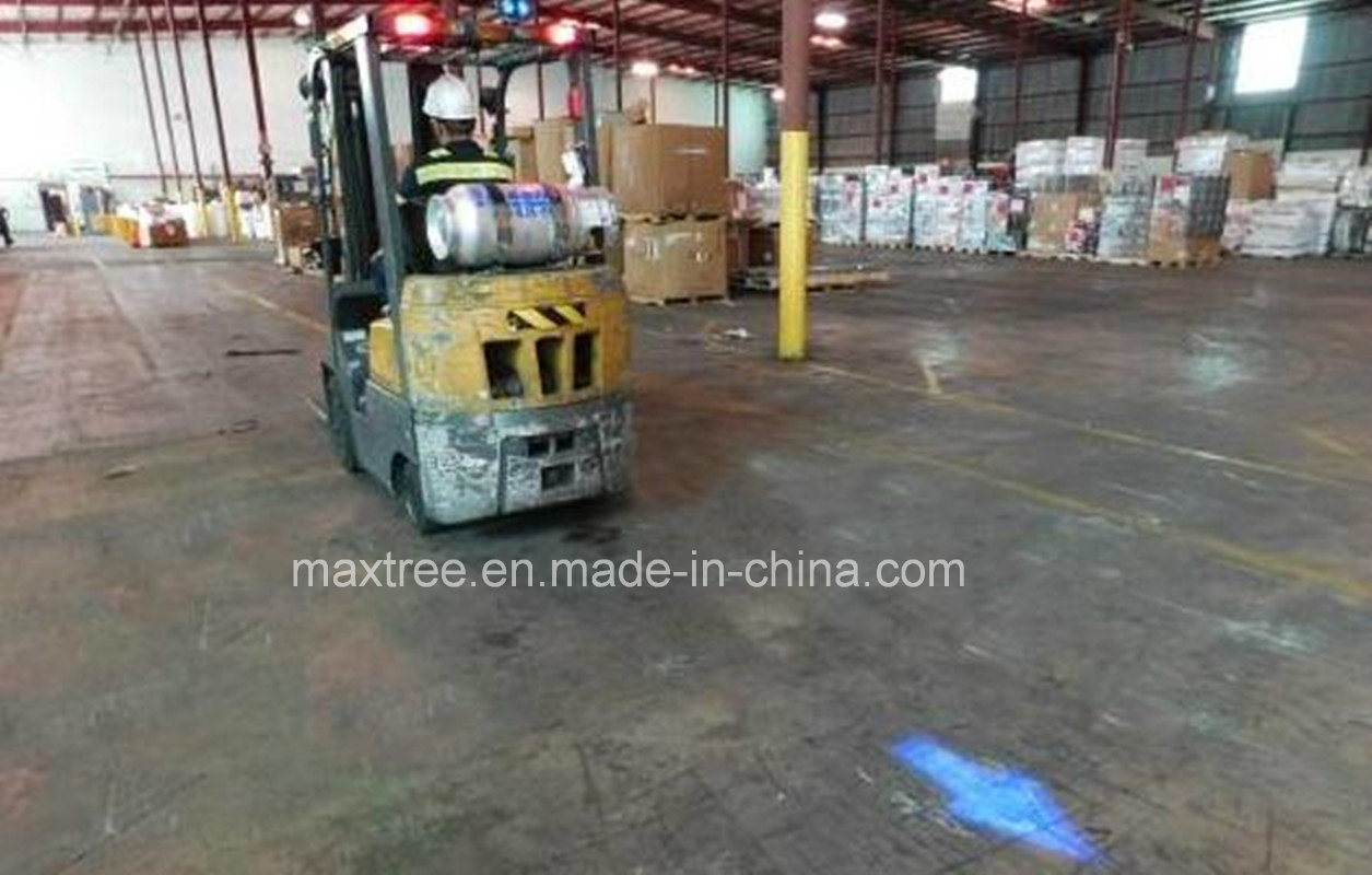 New Blue Arrows Pattern LED Material Handling Safety Light