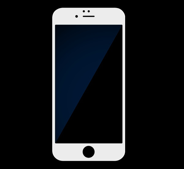 3D Full Cover Phone Accessories Protective Blue Film Tempered Glass Screen Protector for iPhone 7