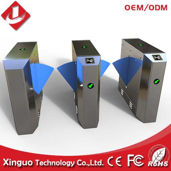 Flap Barrier with Access Control System for Fitness Center