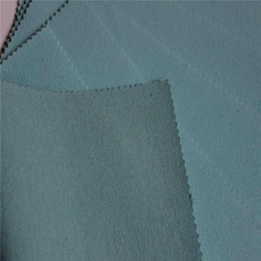 Knitted Woolen Piece Dyeing Fabric