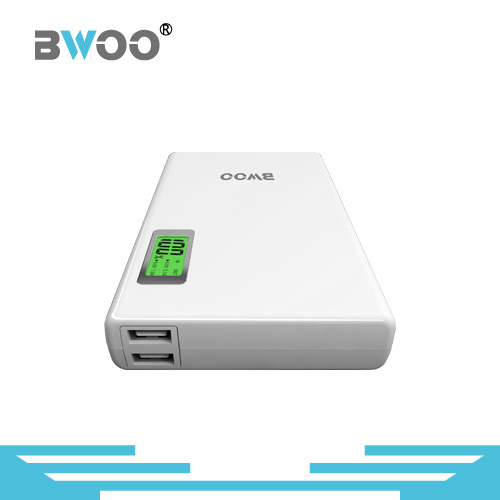 Portable 15400mAh High Capacity Power Bank with LED Display