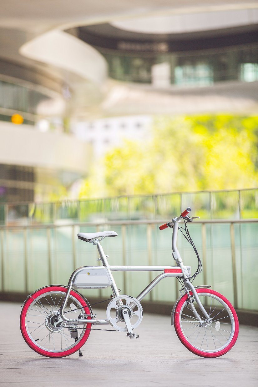 Retro Electric City Bike with Lithium Battery