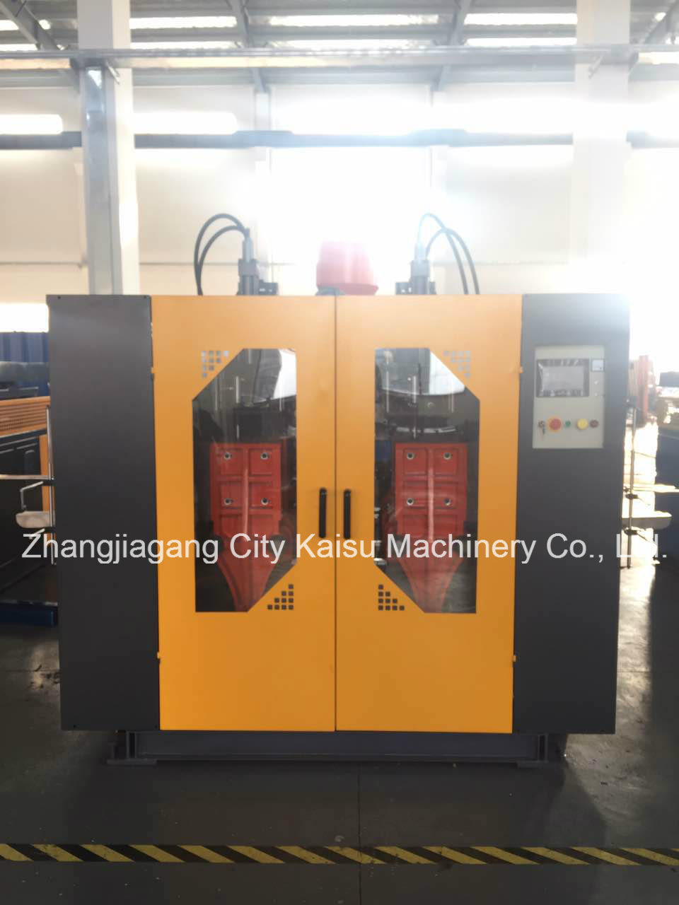 Extrusion Double Station Blow Moulding Machine