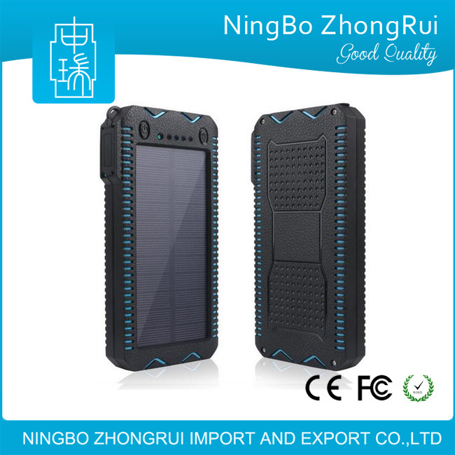 2017 Hot New Products Private Label Solar Energy Power Bank for Smartphones