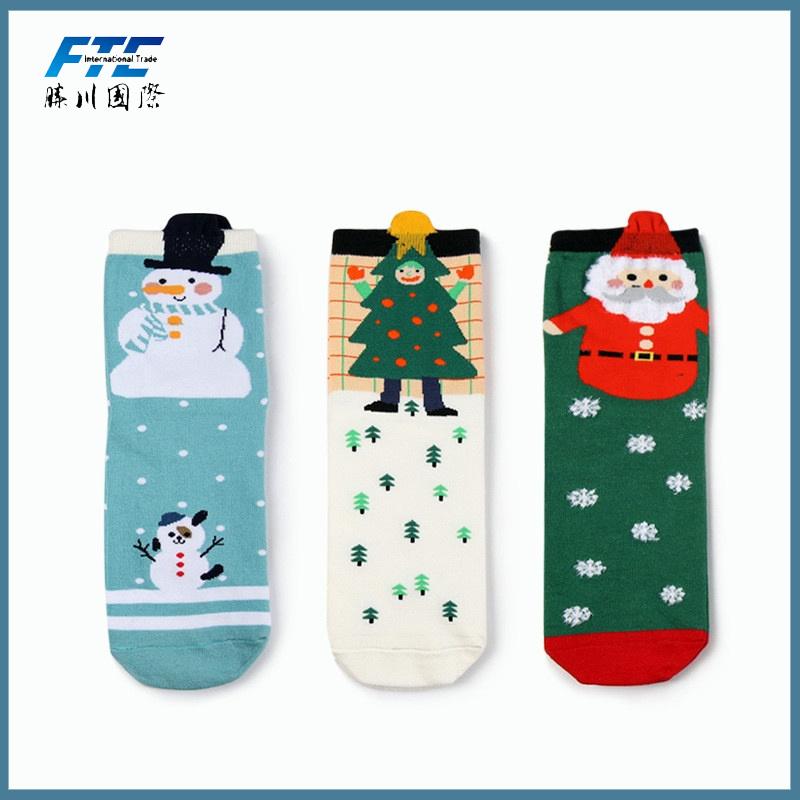 Winter Scoks Festival Cotton Socks Christmas Socks