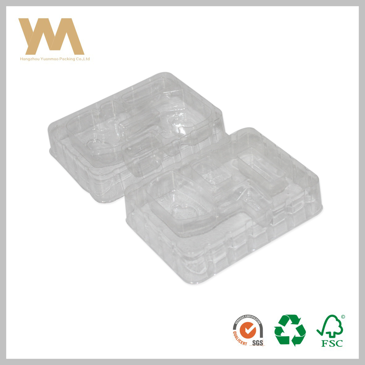 Empty PVC Plastic Clear Hanging Plastic Blister