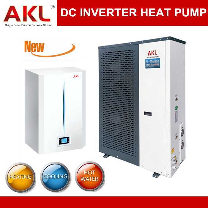 China 2015 Newest Dc Inverter Air To Water Heat Pump Photos Pictures Made In