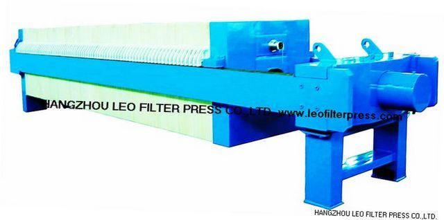 Leo Filter Ceramic Clay Dewatering Filter Press