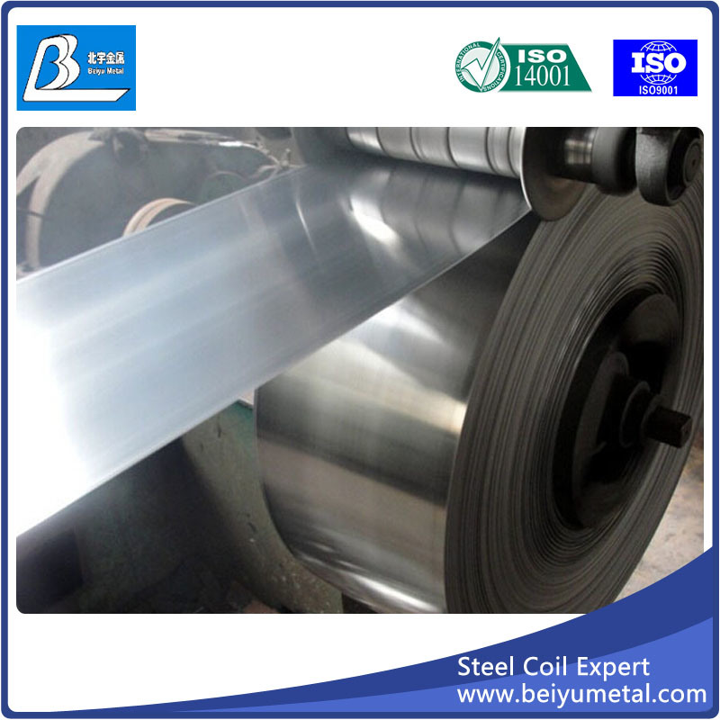Regular Spangle Cold Rolled Carbon Steel Strip Coil Galvanize Sale