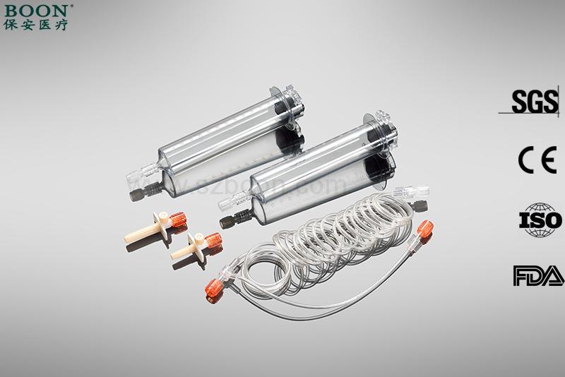 65ml /65 Ml Medrad Lf Nemoto Disposable Plastics Mr Syringe with Luer Lock