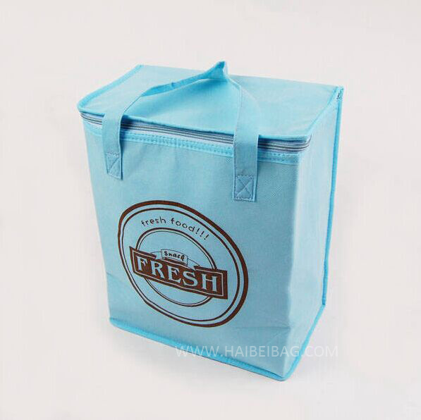 Insulated Cooler Bag, Lunch Bag, Picnic Bag, for Food, Drink Bottle, Beer Can, Ice Cooling, Shopping Box