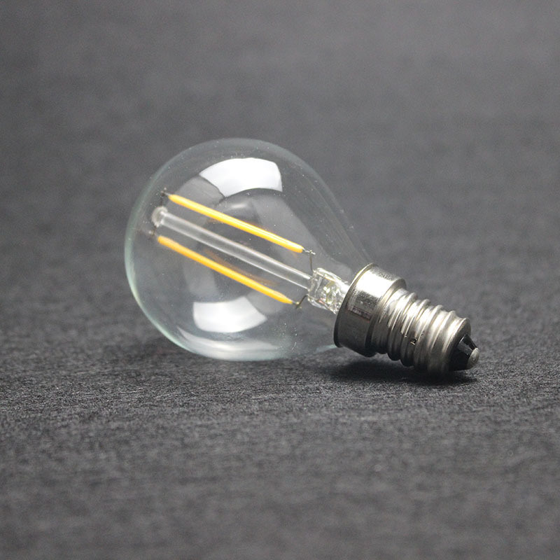 G45 2W LED Filament Lamps