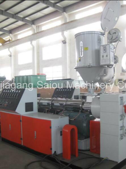 PP/PE/PVC Corrugated Pipe Making Machine