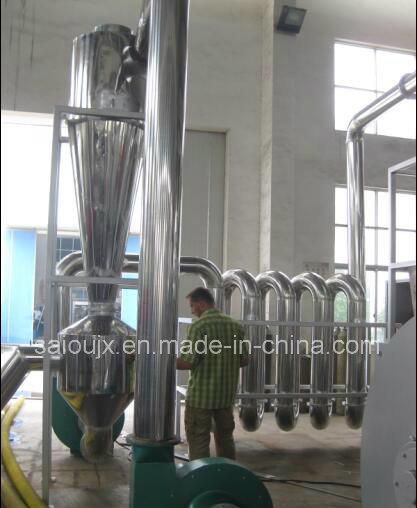 PE Film Crushing Washing Drying Line (500KG/H)