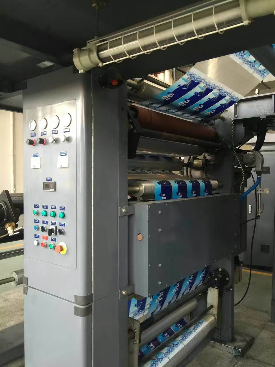 Used of High Speed Flexo Printing Machine for Film Bag