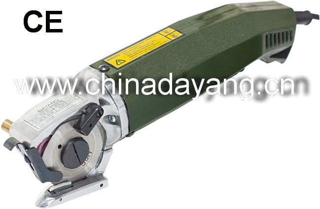 Ce Rotary Shear Hexagon Textile Cutting Machine Round Cutter (RSD-50)