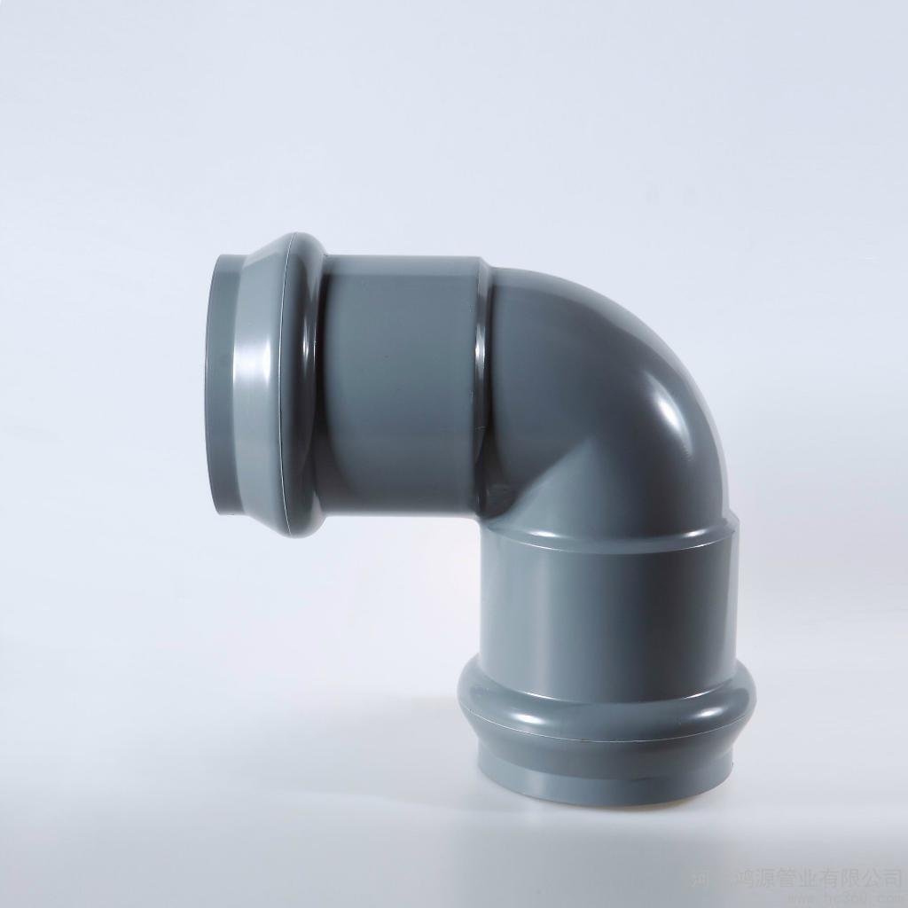 Large Size PVC Pipe Fitting DIN Pn10 (Rubber Ring)