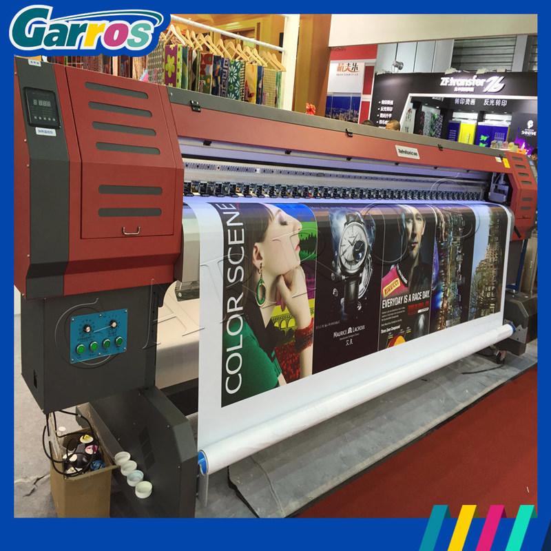 Garros Wide Format 3200mm Digital Eco Solvent Printer Machine for Flex Banner