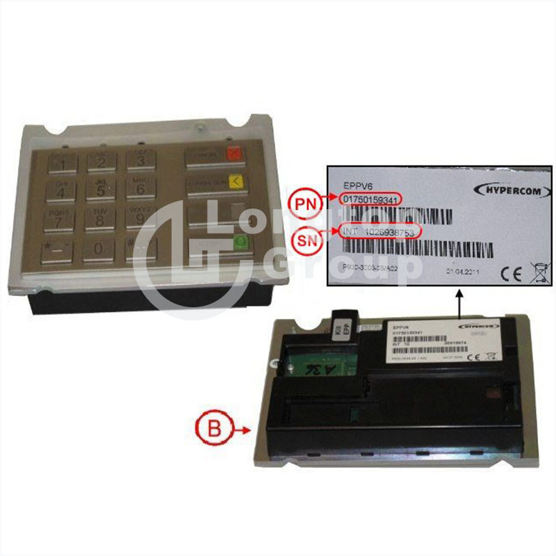 Wincor Nixdorf ATM Parts EPP V6 Keyboard Ces English Version