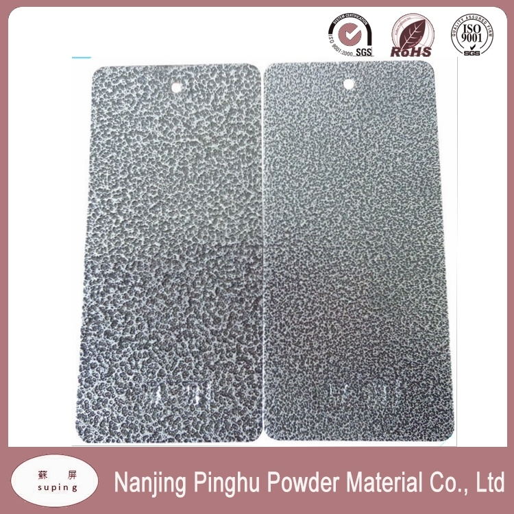 High Quality Black Hammertone Texture Powder Coating