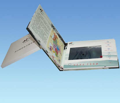 5inch LCD Screen Video Brochure with Buttons