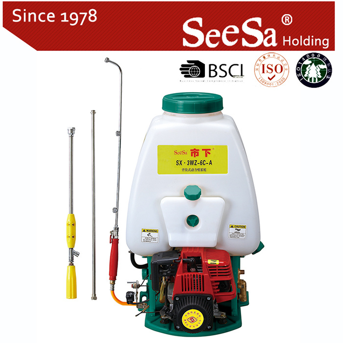 25L Four Stroke Knapsack Power Agricultural Sprayer (SX-3WZ-6C-A)