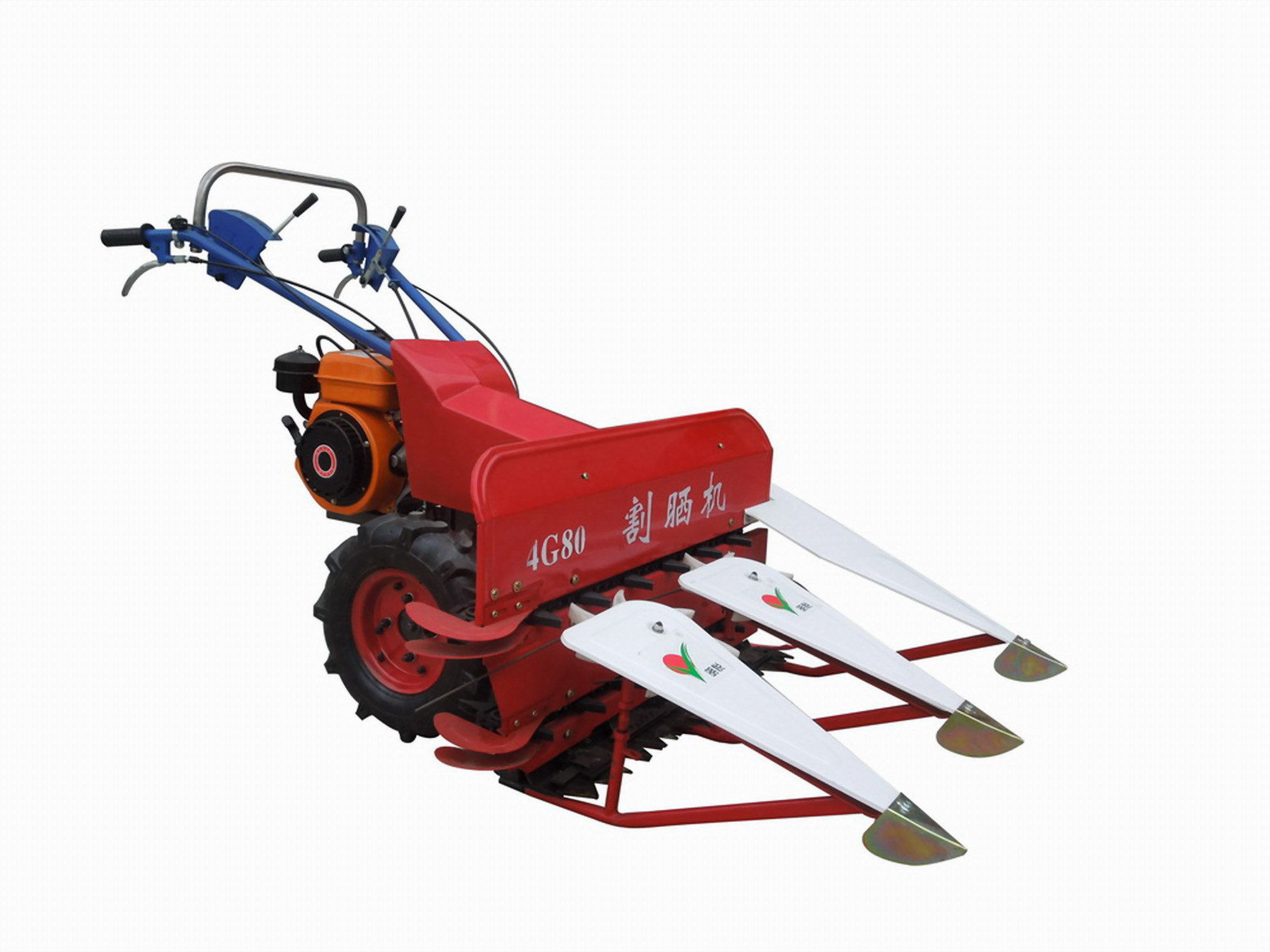 Power Reaper for Rice and Wheat