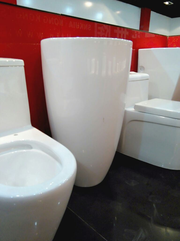 Ceramic Pedestal Basin No. A203 New Model Since 2015
