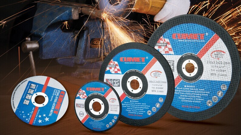 Cutting Disc for Metal (180X3.2X22.2) Abrasive with MPa Certificates