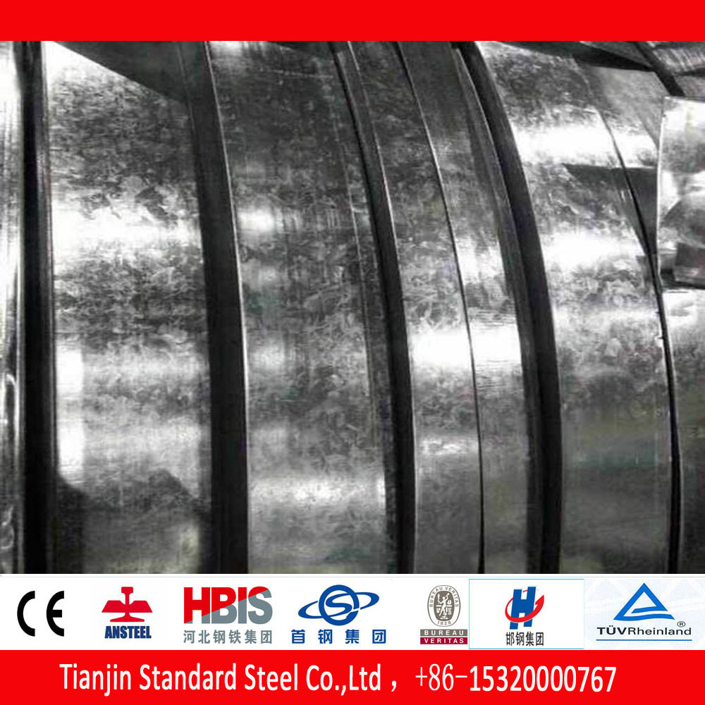 Hot Dipped Cold Rolled Galvanized Steel Strip