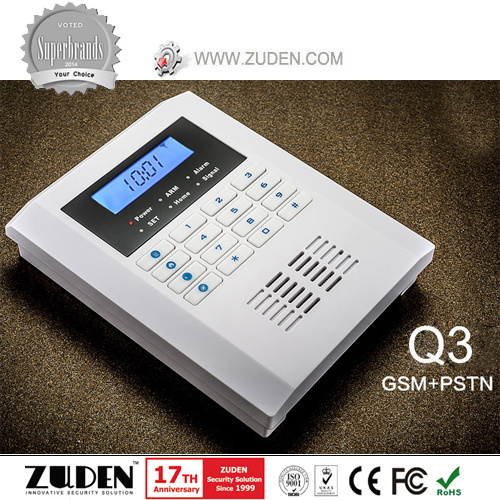 Wireless Home Intelligent Burglar GSM Alarm for Home Security