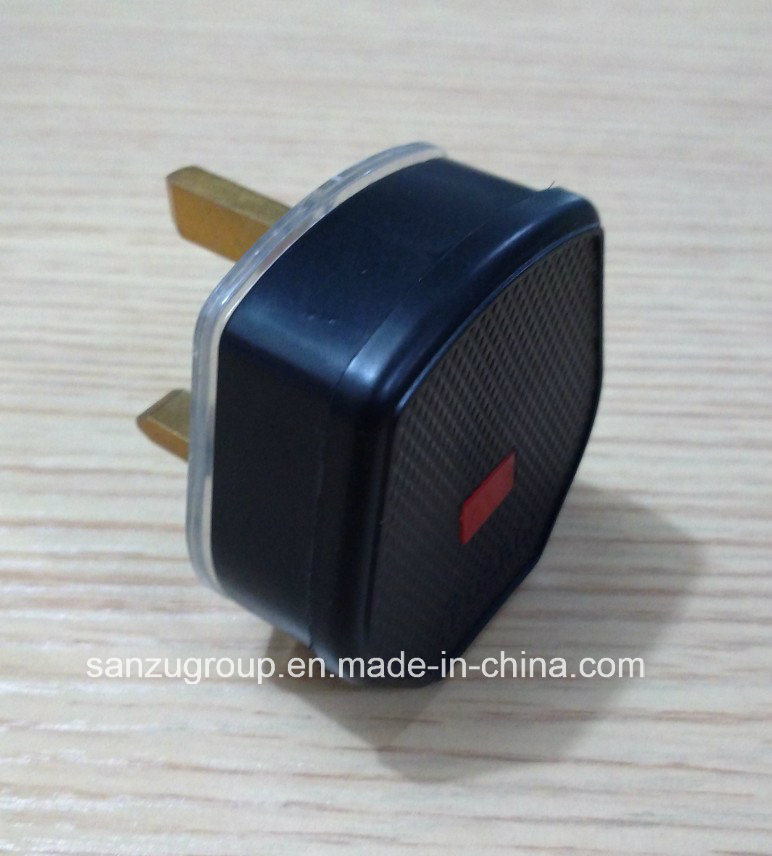 Hot Sale UK 13A Power Plug Adaptor with Fuse