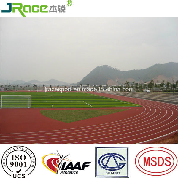Good Weather Resistance Running Track Surfacing Rubber Athletic Track