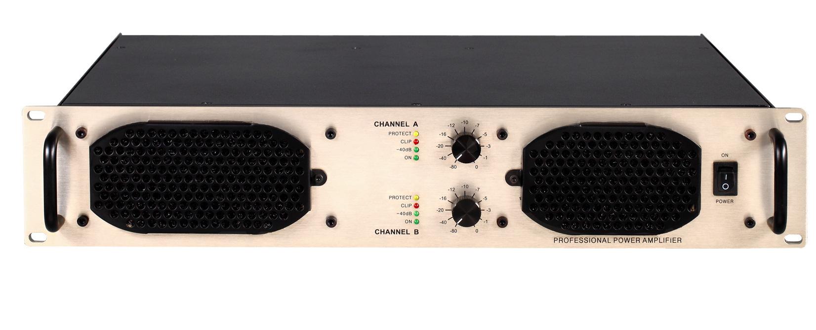 Ma Series, High Power Professional Amplifier, 2u Standard Cabinet