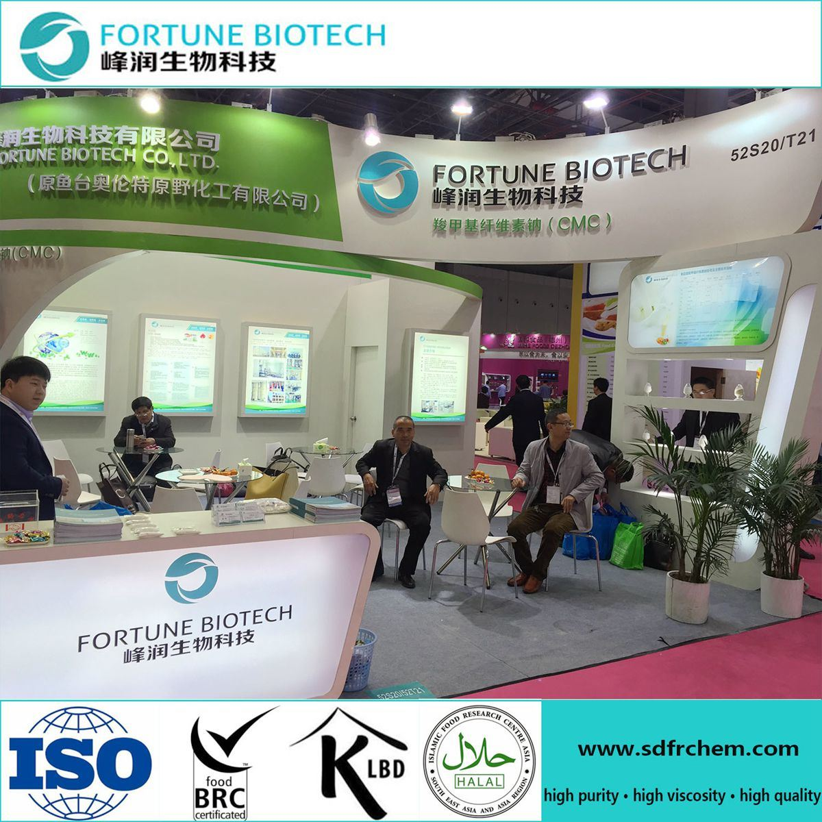 Ceramic Grade Carboxymethyl Cellulose From Fortune Biotech