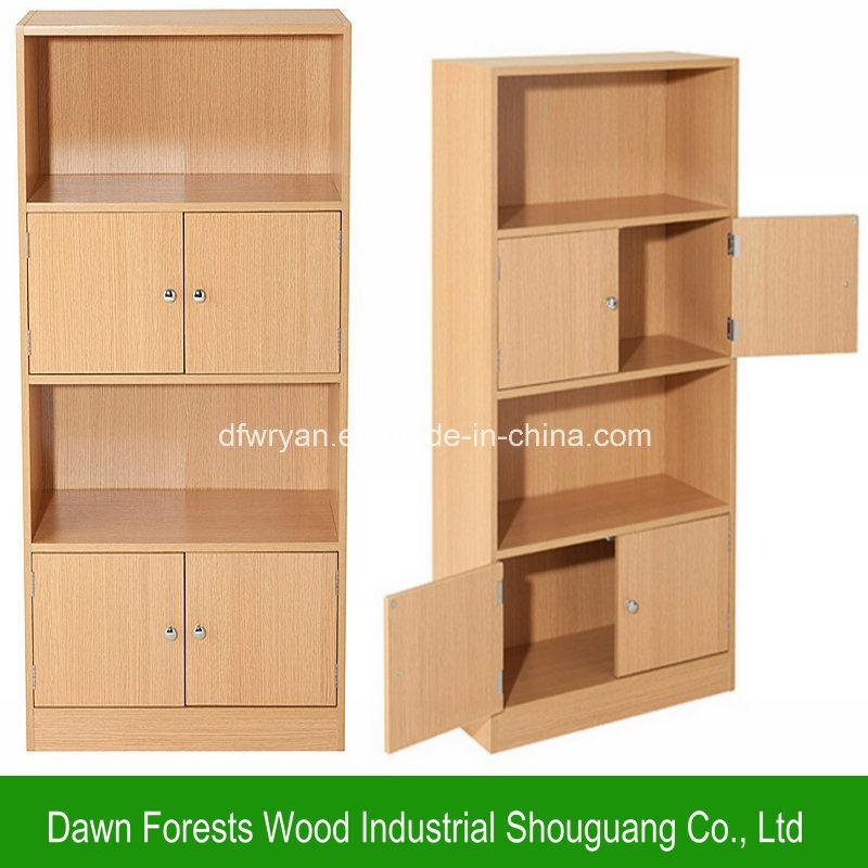 Living Room Furniture Melamine Particle Board Bookcase