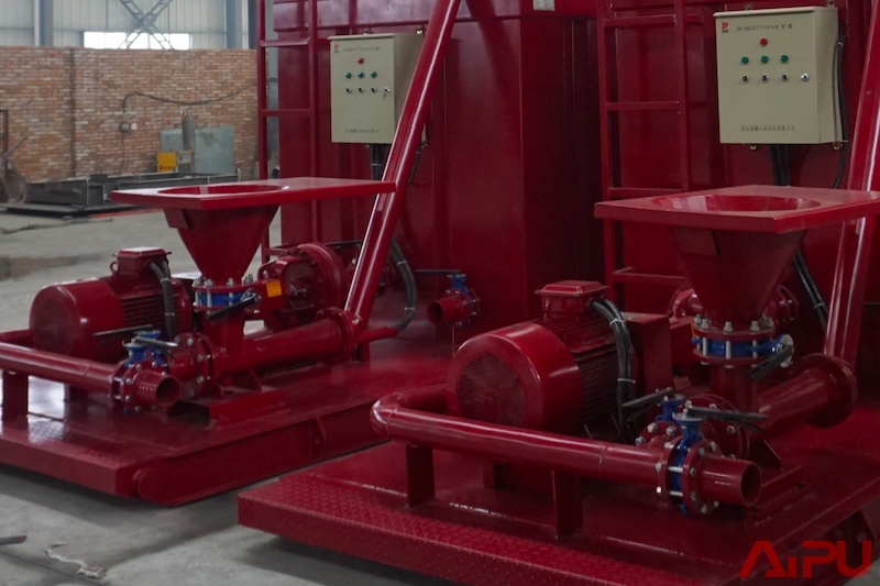 Mud Hopper Pump for Mixing in Oilfield Drilling Mud Process