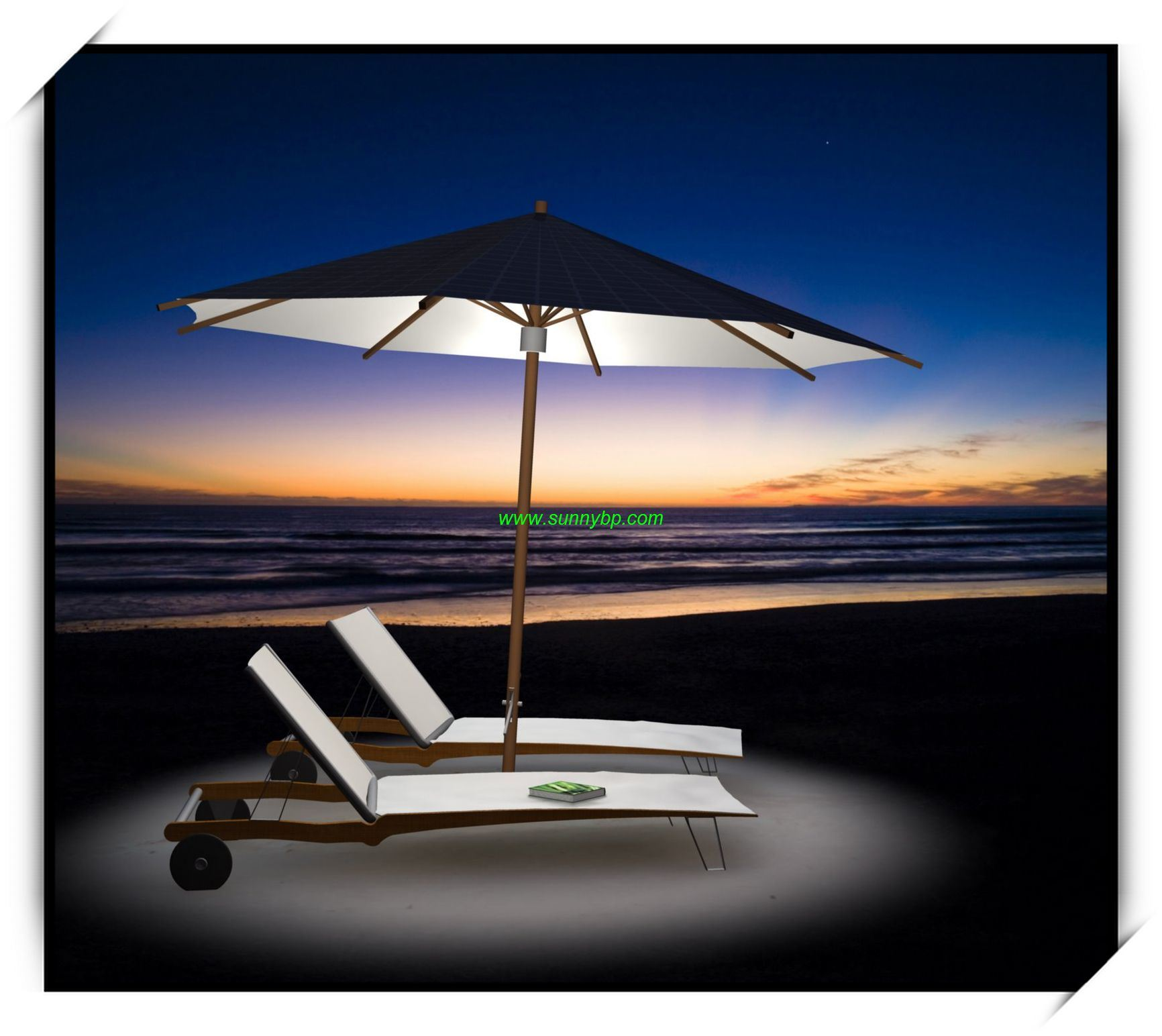 china solar patio umbrella with led light photos pictures made in. Black Bedroom Furniture Sets. Home Design Ideas