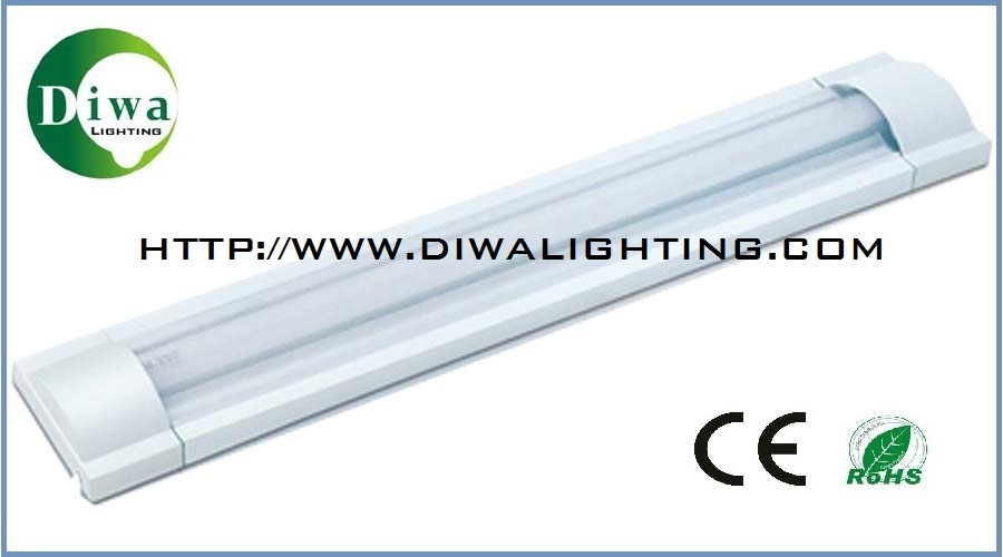 T8 Fluorescent Fitting for Tube Lamp, CE IEC Approved, Dw-T8CF