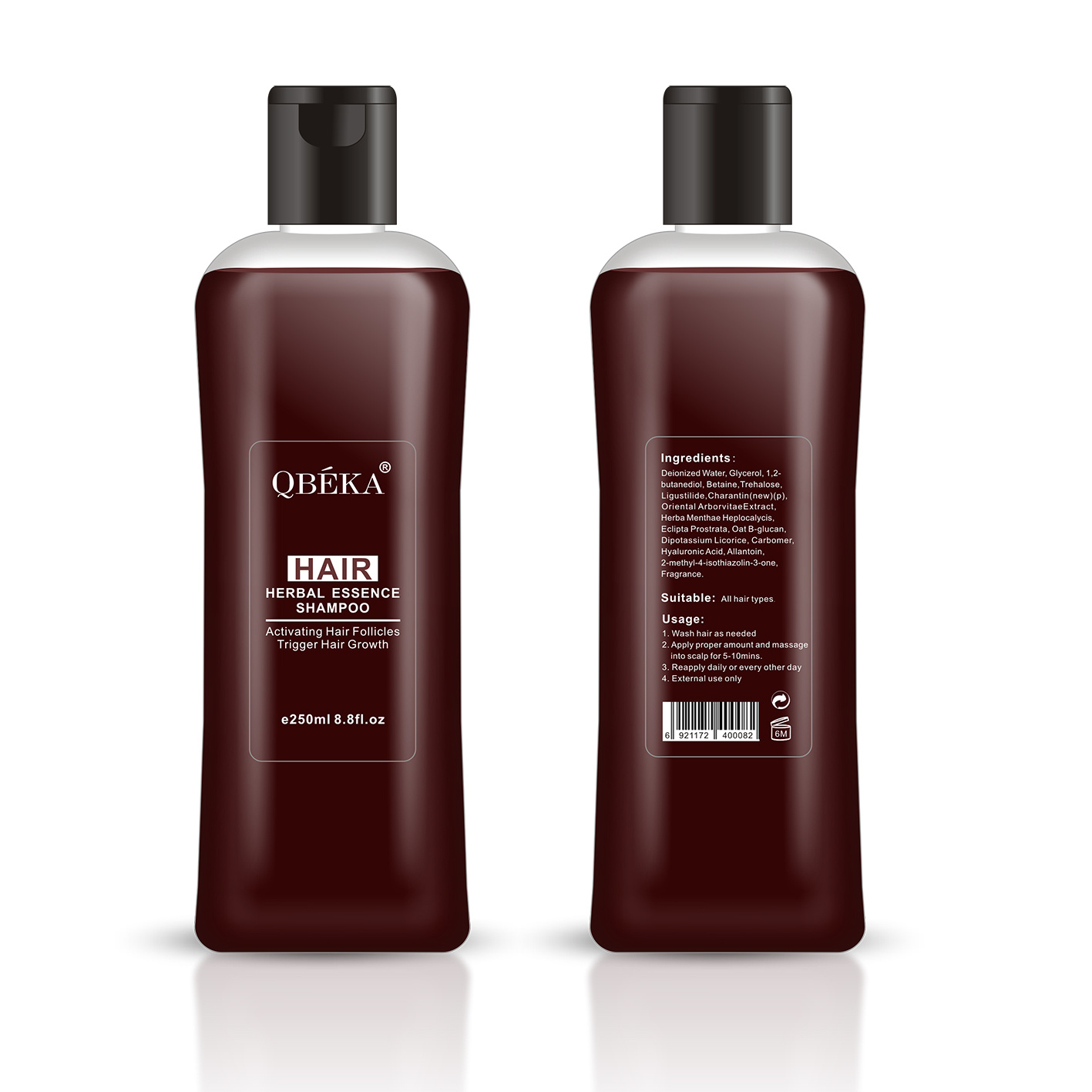 OEM Hair Growth Shampoo for Hair Regrowth and Anti Hair Loss Hair Growth Spray