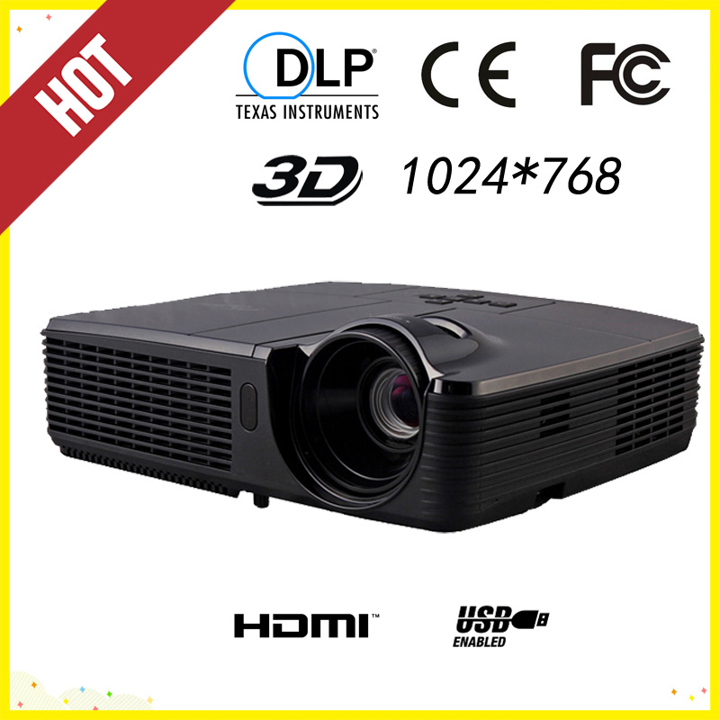 1024*768 3500lm DLP Education 3D Projector (DP-307)