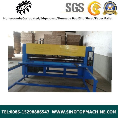 Semi - Automatic Honeycomb Cardboard Slittng Equipment