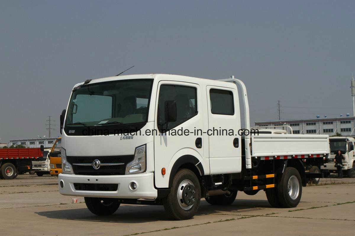 Dongfeng Kai Pute N300 130 HP 3.13 Meters Cargobox Double Row Cabine Light Truck