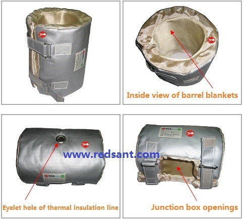 Thermal Insulation Blanket for Heater Band, Pipes, Valve, Elbow, Flange & More