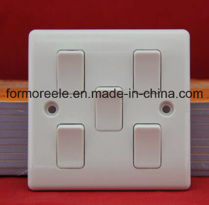 Four Gang One Way Switch /Wall Switch /British Wall Switch /Switch Socket