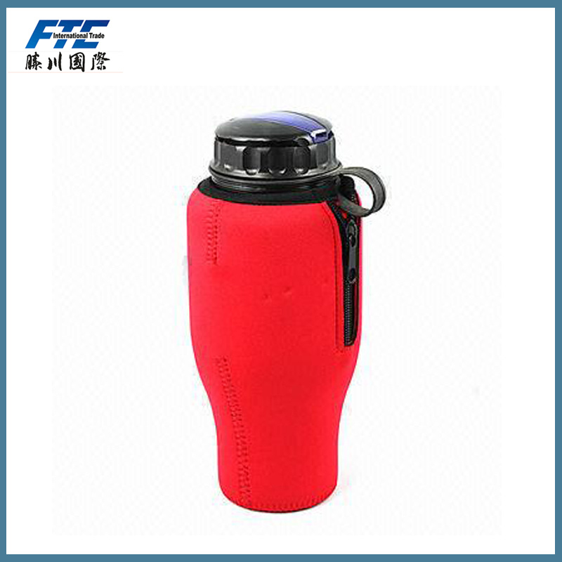 OEM Neoprene Beer Can Holder Bottler Cooler with Bottle Opener