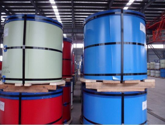 Zinc Alloy Coated Steel Al-Zn 5-55% PPGL in Color Coated Steel Coil